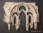Wall Tracery Fragment Set
