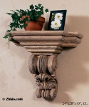 Architectural Wall Bracket Shelf