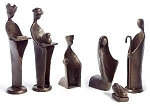 Small Six Piece Nativity Set