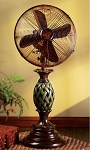 Pineapple Designed Tabletop Fan