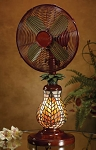 Mosaic Table Fan