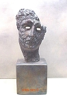 Greek Competitor Face Sculpture