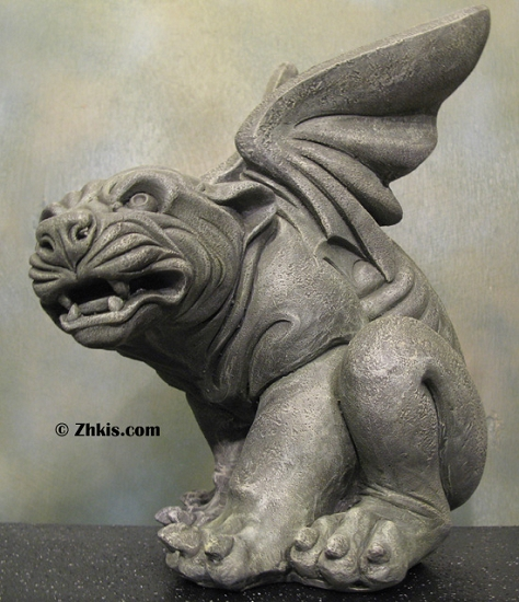 Gargoyles and Griffin Statues