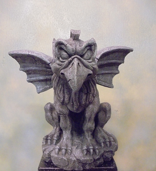 Bird Beak Gargoyle Statue
