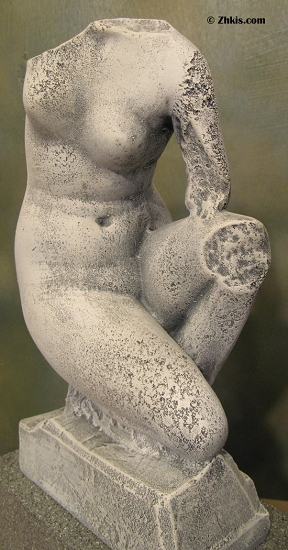 Female Torso Fragment Statue