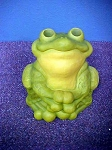 Large Colorful Frog Statue