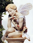 Fairy On Pedestal Statue