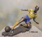 Action Soccer Player Figurine