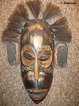 Large Tiki Wall Mask