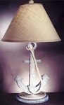 Anchor with Rope Lamp