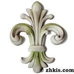 Large Fleur-de-lis Wall Decoration