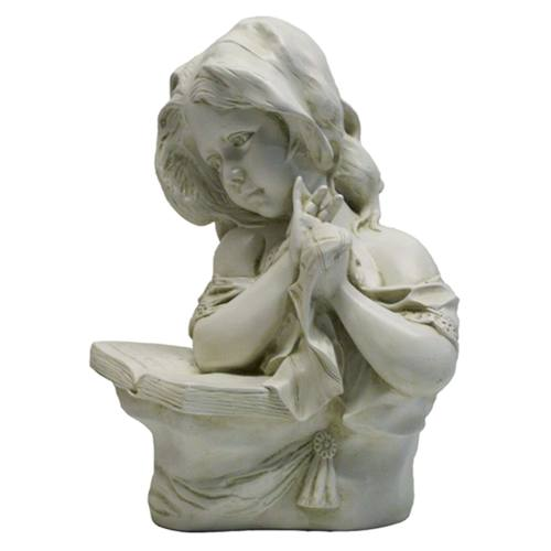 Young Girl Reading Statue