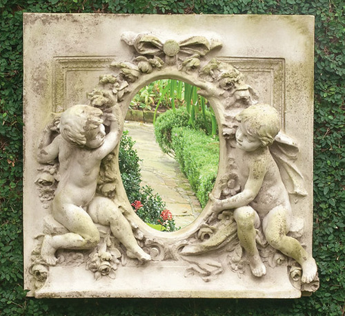 Victorian wall plaque