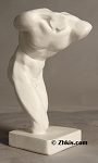 Contemporary Male Torso Statue