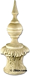 Tall Pointed Top Outdoor Finial