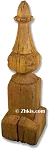 Weathered Wood Finial
