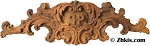 Scalloped Leafy Wall Plaque