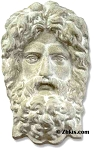 Face of Poseidon Wall Plaque