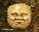 Outdoor Sun Wall Plaque