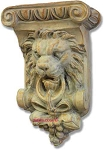 Lion Corbel Shelf