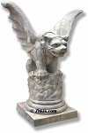 Large Gargoyle Statue or Table Base