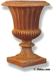 Classic Garden Fluted Urn Small
