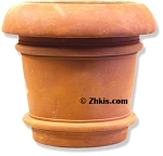 Fat Lipped Outdoor Urn