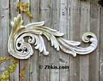 Long Leaf Wall Sculpture Right