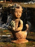 Boy Mermaid Outdoor Statue