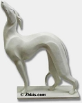 Contemporary Greyhound Dog Statue
