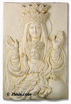 Holy Mother and Child Wall Plaque