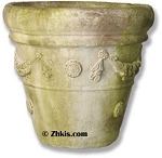 Flower Motif Planter Pot Small