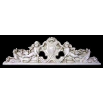Door Monogram Cherub Plaque