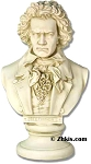 Beethoven Bust with Frown