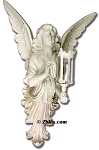 Angel Wall Sconce Statue