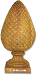Large Outdoor Pinecone Finial