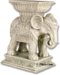 Indian Elephant Pedestal Table