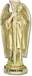 Angel Candle Holder Statue Right