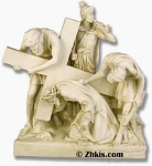 Jesus Fall The 1st Time Statue (small)