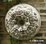 Thick Round Wall Medallion