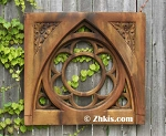 Gothic Arch Wall Plaque