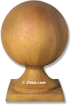 Large Sphere Finial