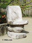 Unique Rock Patio Chair