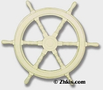 Ships Helm Wheel for Outdoors
