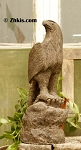 Large Perched Eagle Statue