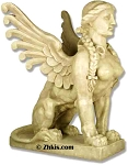 Large Roman Sphinx Statue