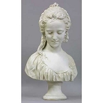Young Girl with Braids Bust