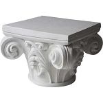 Scroll Top Capital Pedestal