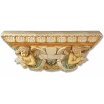 Ornate Cherub Shelf Large