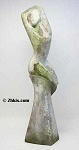 Tall Contemporary Twisting Woman Sculpture